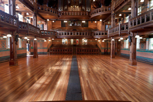 New Bona finish chosen to restore hall floor