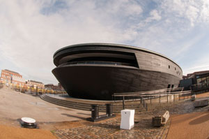 Mary Rose Museum in Portsmouth Historic Dockyar